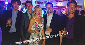 Piha Rocks the Queen Elizabeth 2014