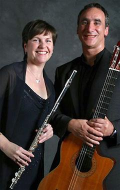 Aviva - Sam Piha (guitar) and Louise Garner (flute)