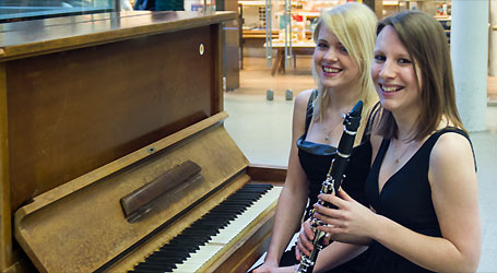 Sarah Douglas and Amy Wakefield