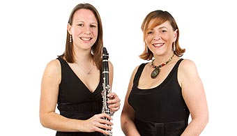 Sarah Douglas and Elspeth Wilkes