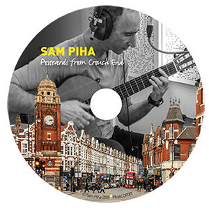 CD label Postcards from Crouch End
